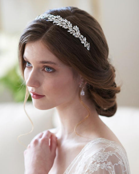 Tiaras & Headbands-TI-7096-S-Sweet Heart Details