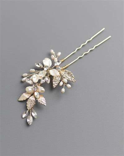 Aviana Hair Pin by Dareth Colburn-Combs & Clips-Dareth Colburn-Sweet Heart Details