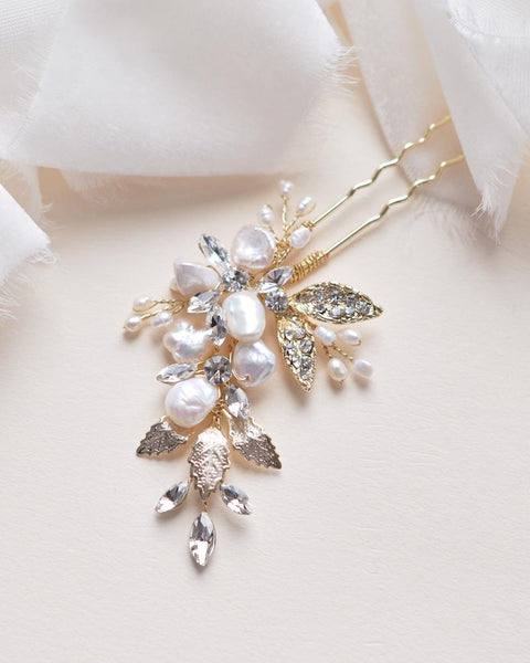 """The Aviana"" Hair Pin by Dareth Colburn - Sweet Heart Details"