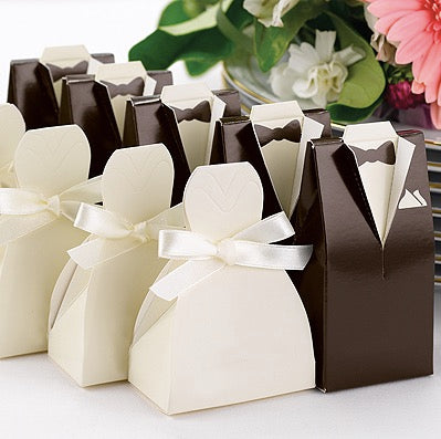 Favor Boxes & Bags - Sweet Heart Details