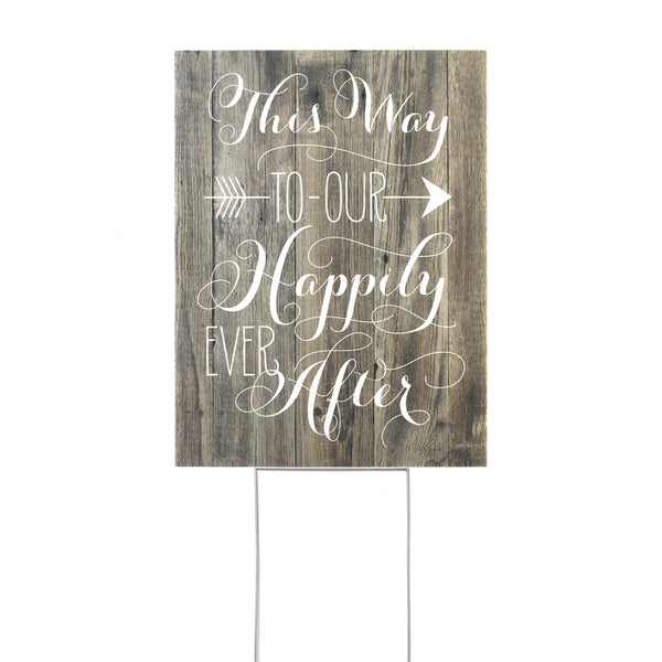 Wedding Signs-Sweet Heart Details