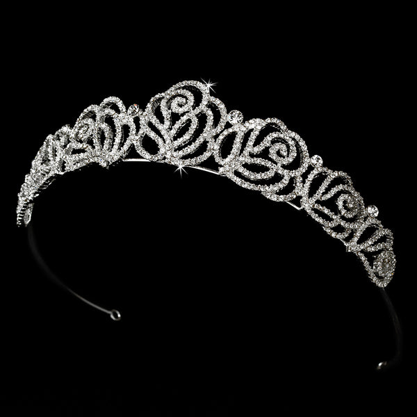 Tiaras & Headbands-HP-7815-S-CL-Sweet Heart Details