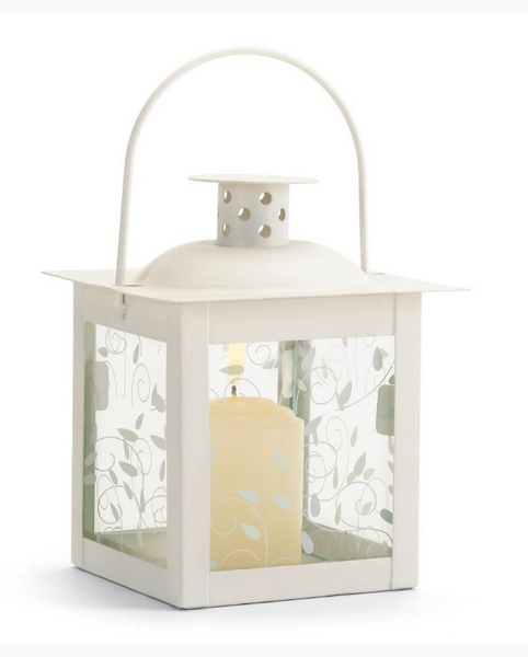 Lightweight White Lanterns-Lanterns, Candles-Sweet Heart Details
