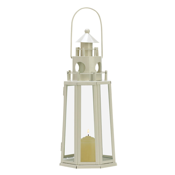 Lighthouse Candle Lantern - Sweet Heart Details