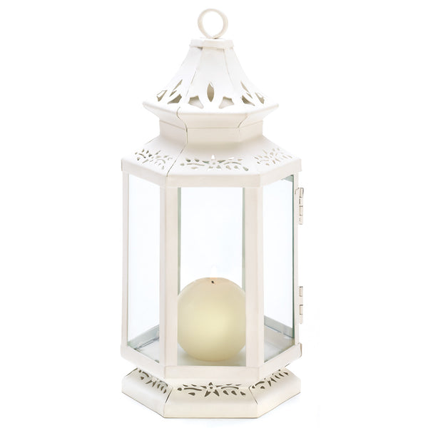 Victorian Candle Lanterns (small or medium)-Lanterns, Candles-Kohler Home Decor-Sweet Heart Details