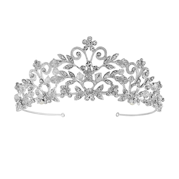 """The Rochelle"" Enchantment Tiara - Sweet Heart Details"