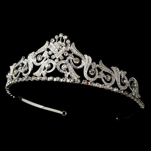 """The Brenda"" Sparkle Tiara - Sweet Heart Details"