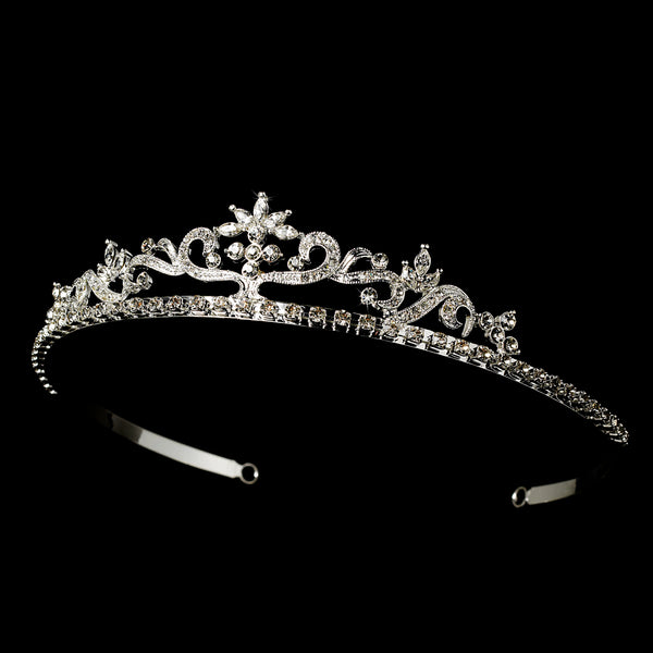 """The Nancy"" Bright Star Tiara-Tiaras & Headbands-HP-11109-S-CL-Sweet Heart Details"