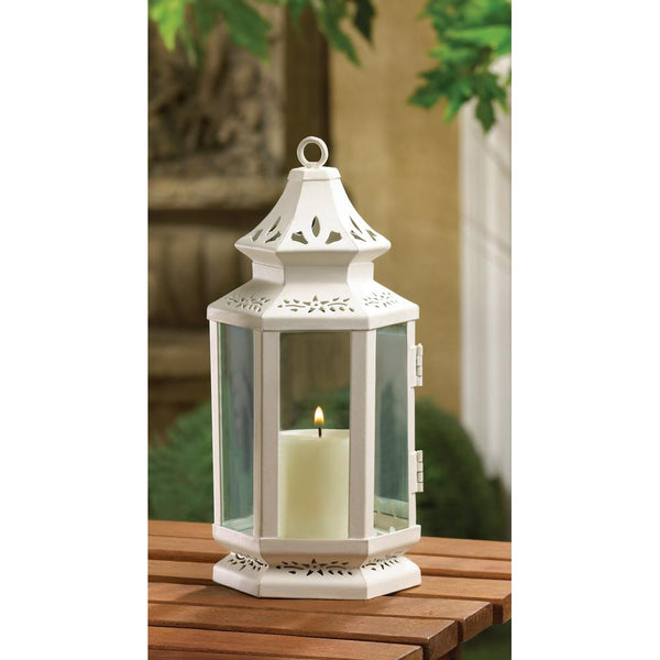 Victorian Candle Lanterns - Sweet Heart Details