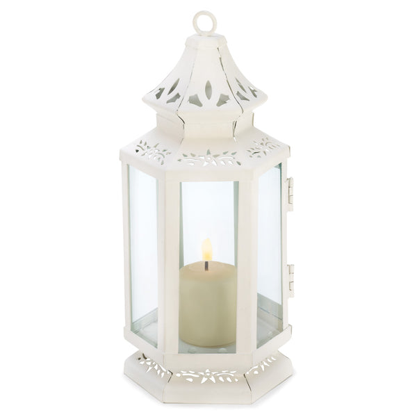 Victorian Candle Lanterns-Lanterns, Candles-Kohler Home Decor-13360-Sweet Heart Details
