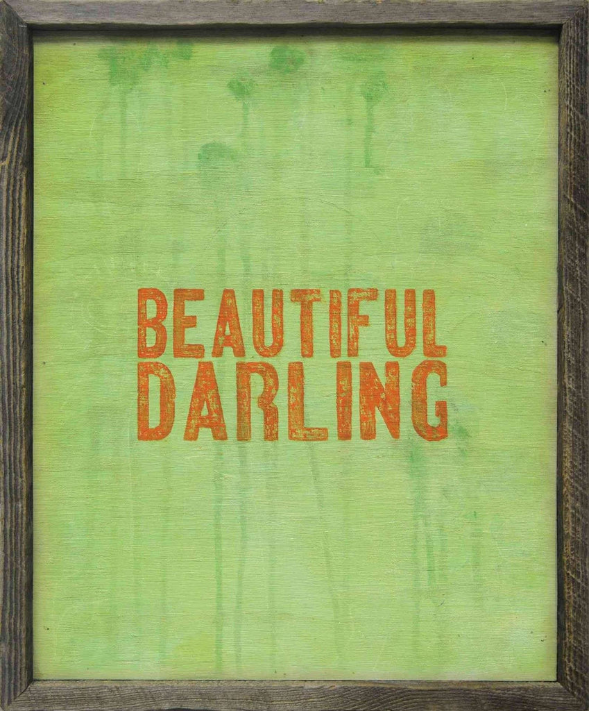 Sugarboo Designs Art Print Beautiful Darling - Life onPlum