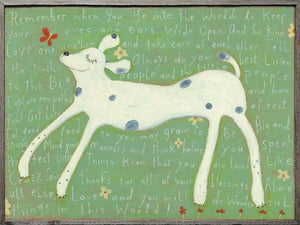 Sugarboo Designs Art Print Girl Dog - Life onPlum