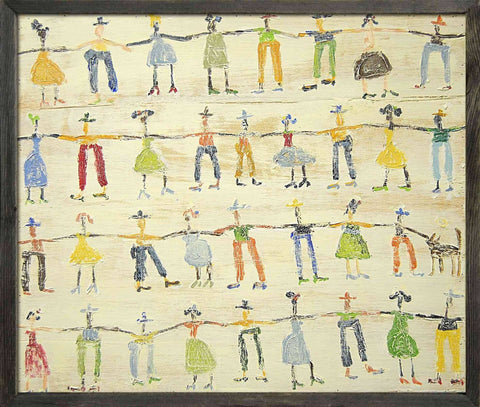 Sugarboo Designs Art Print Little People - Life onPlum