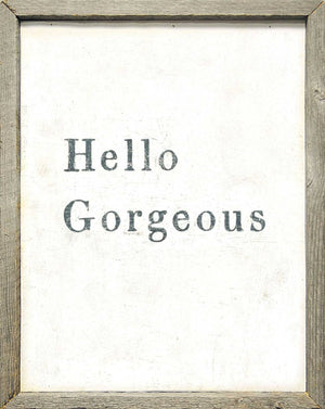 Sugarboo Designs Hello Gorgeous Art Print - Life onPlum