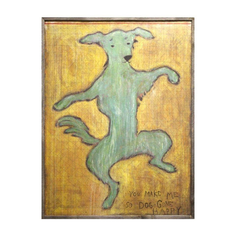 Image of Sugarboo Designs Art Print Dancing Dog - Life onPlum