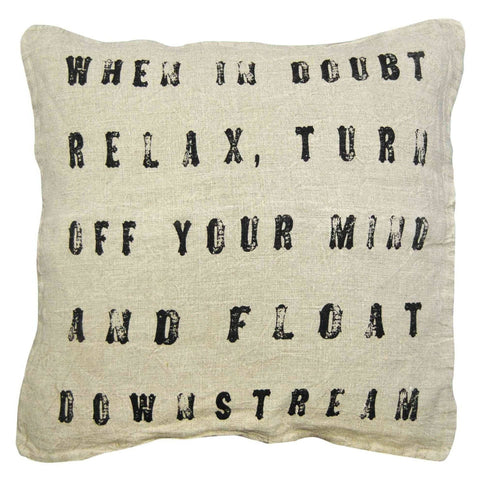 Sugarboo Designs When in Doubt Pillow - Life onPlum