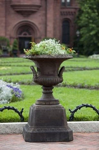 Campania International Smithsonian L'Enfant Urn with Pedestal The Garden Gates
