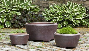 Campania International Alma Planter set of 3 - Kendall and Everett