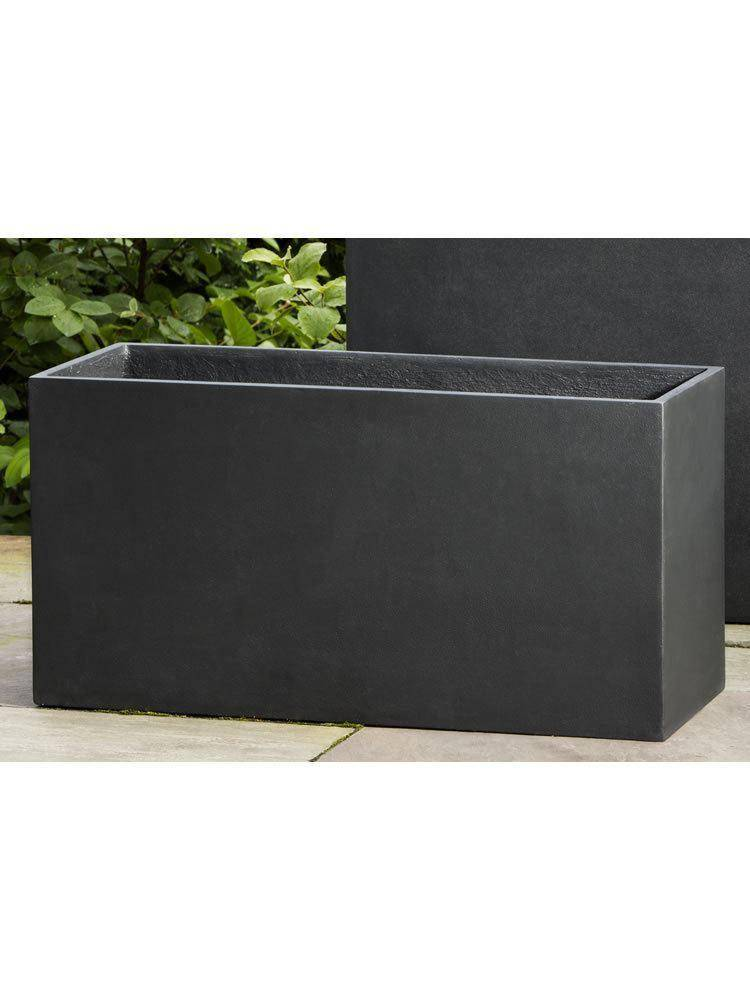 Campania International Modular Lite 7 Planter in Onyx Black - Kendall & Everett Home