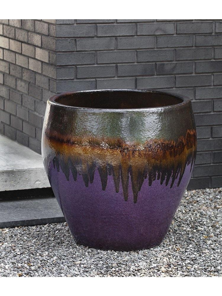 Chantal Planter in  Lava Purple -  Set of 4 - Life onPlum
