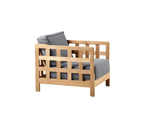 Square Lounge Chair by Cane Line