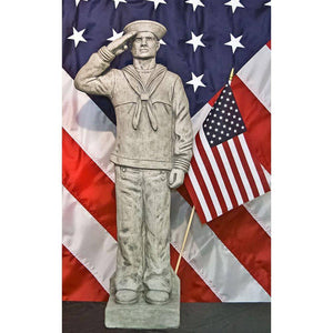 Henri Studio Navy Sailor Statue The Garden Gates