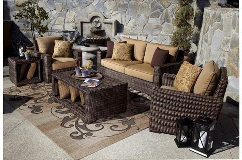 Image of Sunset West Montecito Outdoor Loveseat and Chair Collection