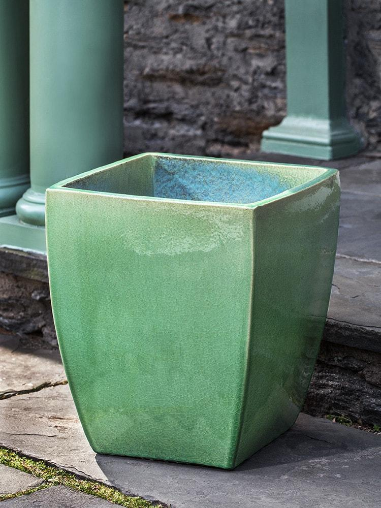 Campania International Blake Planter Set of 4  in Eau de Nil - Life onPlum