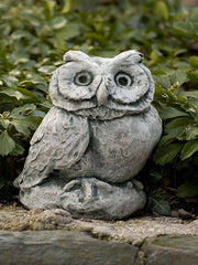Campania International Merrie Little Owl Garden Statue