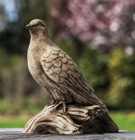 Campania International Turtle Dove Garden Statue