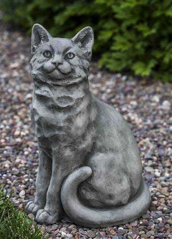Campania International Mimi the Cat Garden Statue Kendall and Everett