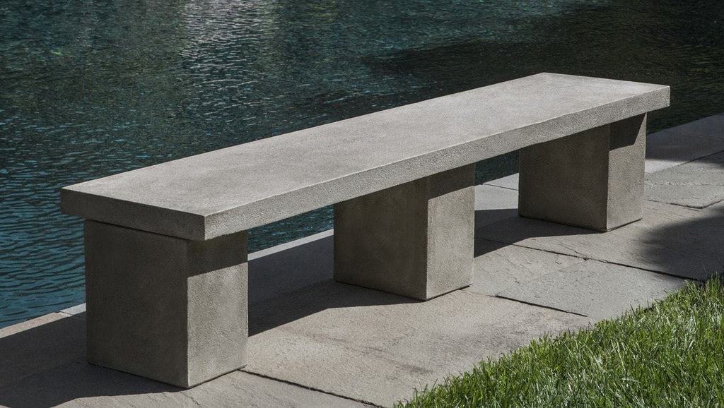 Campania International Biscayne Bench Kendall and Everett