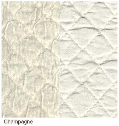 Image of Bella Notte Linens Silk Velvet Quilted Pillow Shams