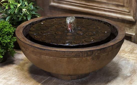 Image of Campania International Cirrus Garden Terrace Fountain