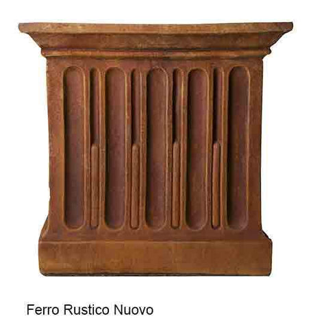 Image of Campania International Chenes Brut Tall Box Planter