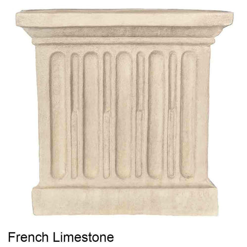 Image of Campania International Moderne Tall Planter on Pedestal