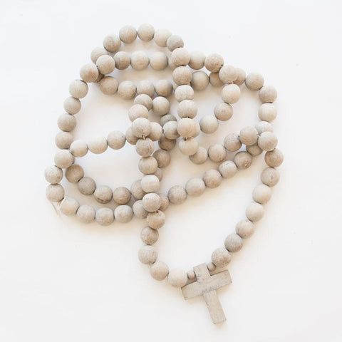 Image of Sugarboo Design Prayer Beads with Cross