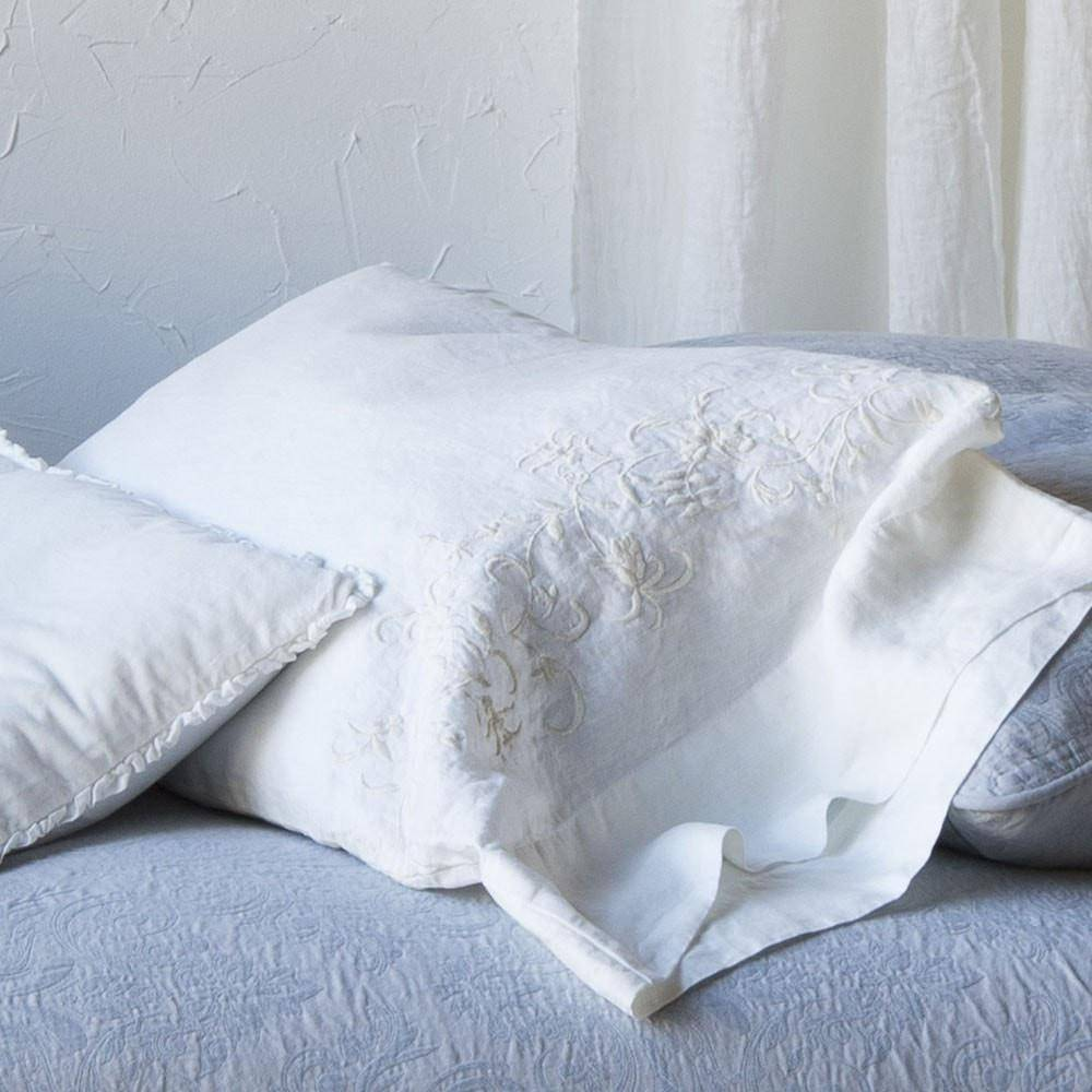 Bella Notte Linens Josephine Linen Pillowcase
