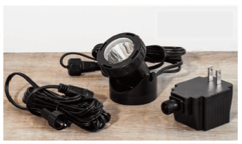 Campania International Single LED Light Kit for Fountains