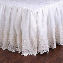 Pom Pom at Home Annabelle Bed Skirt -Kendall & Everett Home