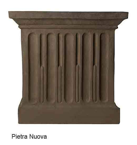 Campania International Savoy Planter with Pedestal