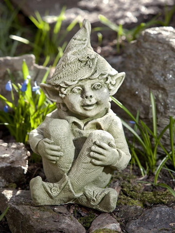 Image of Campania International Aiden Garden Statue Kendall and Everett