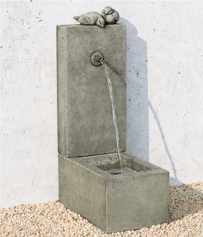 Image of Campania International Bird Element Fountain Kendall and Everett