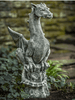 Image of Campania International Abraxas Dragon Garden Statue Kendall and Everett