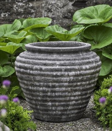 Campania International Boca Jar in Angkor Grey - Life onPlum