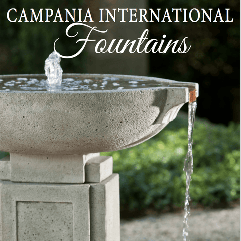 Campania Fountain Catalog The Garden Gates