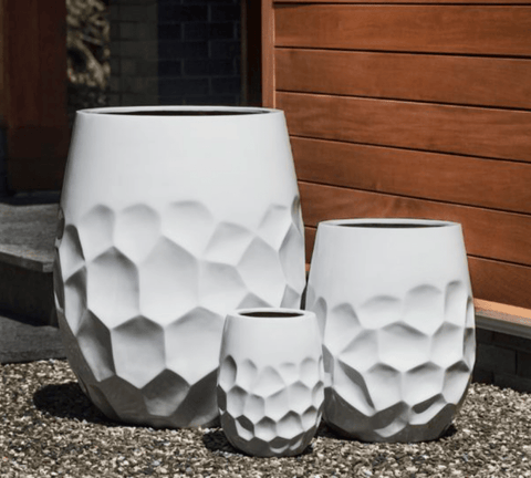 Tall Prism Planter- Set of 3