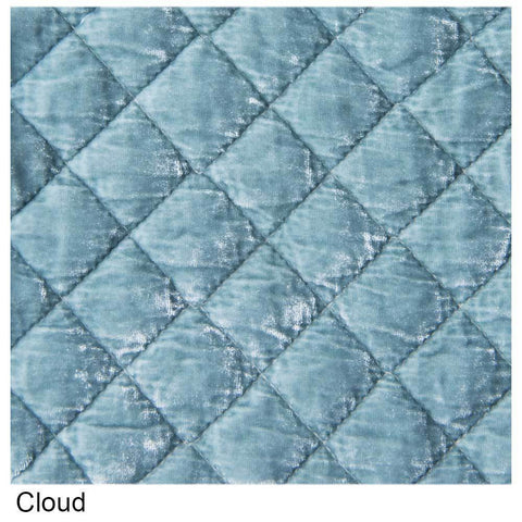 Image of Bella Notte Linens Silk Velvet Quilted Throw Blanket