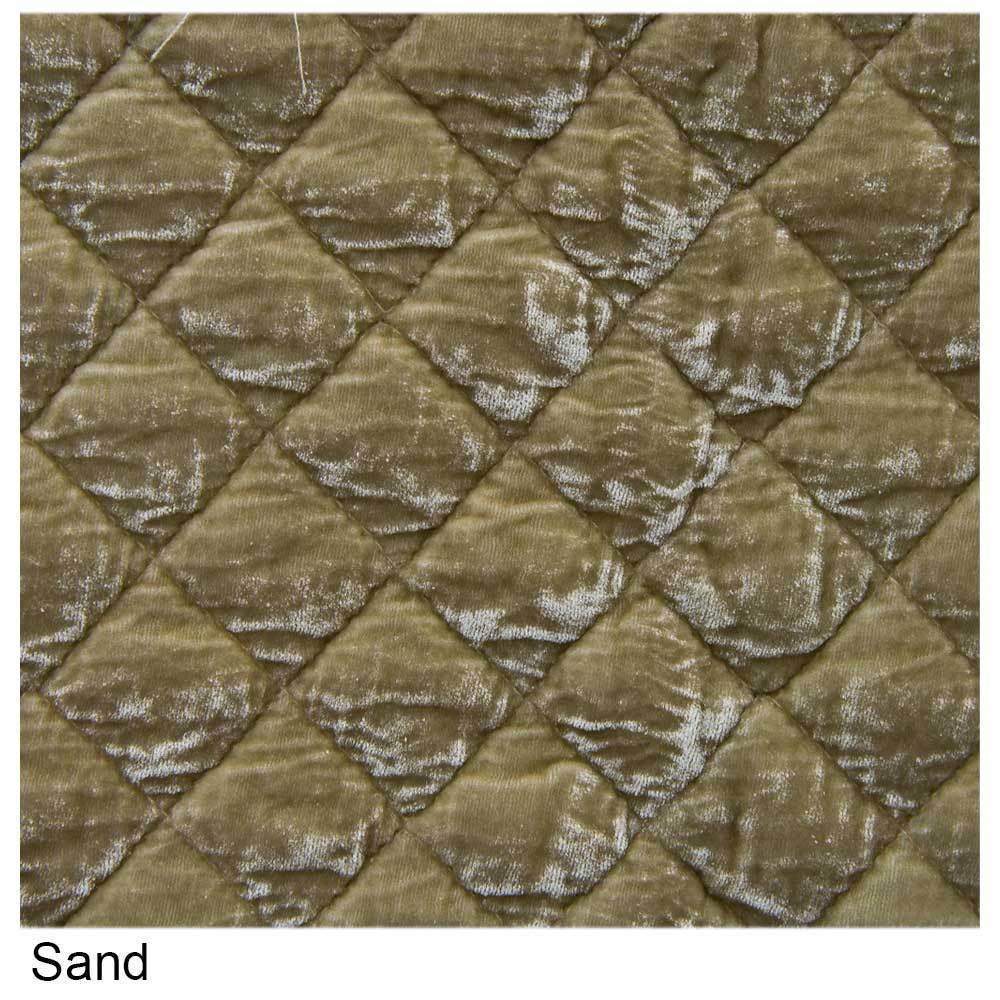 Bella Notte Linens Silk Velvet Quilted Throw Blanket