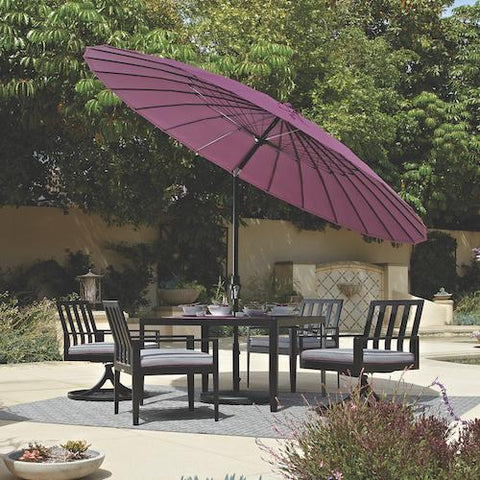 Treasure Garden 10ft Shanghai Collar Tilt Umbrella